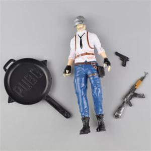 PUBG Figurine Decoration Game Character Ornament For Keychain And Cake