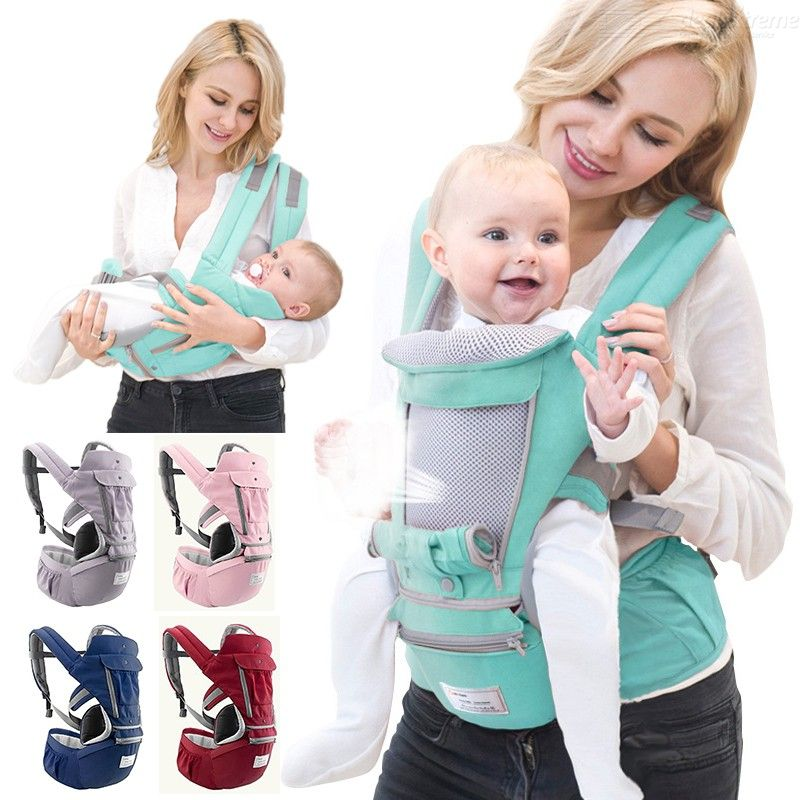 Baby Hip Seat Carrier Breathable Baby Soft Carrier With Waist Stool