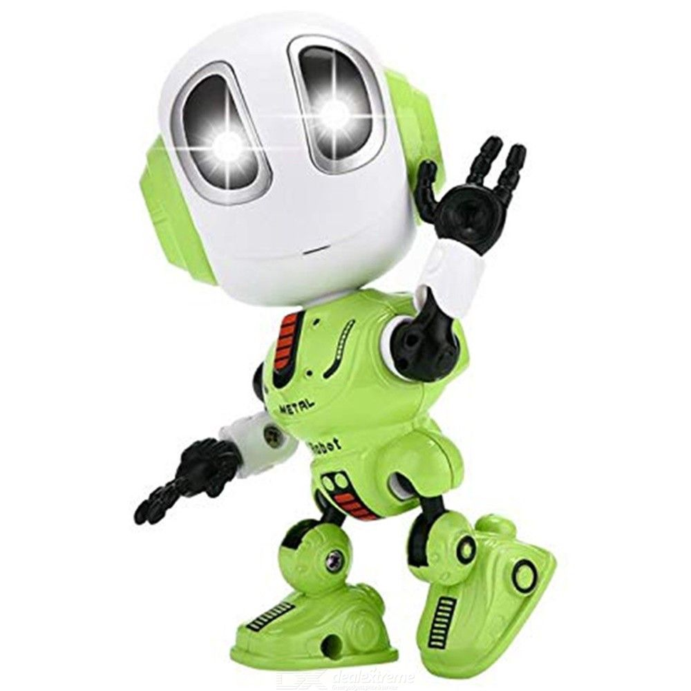 Mini Recording Talking Robot Toy Kids Children Toys LED Eyes Contact Control Interactive Toys With Repeats Your Voice