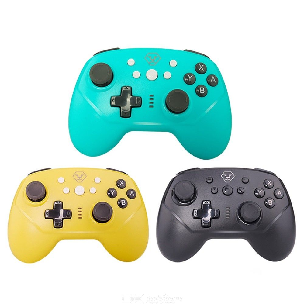 HSY-021 Universal Wireless Gamepad Bluetooth Game Controller Handle Grip For Nintendo Switch Pro / Lite