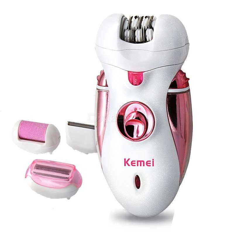 4-in-1 Rechargeable Hair Epilator Women Shaver Female Electric Hair Removal Shaving Machine Lady Trimmer