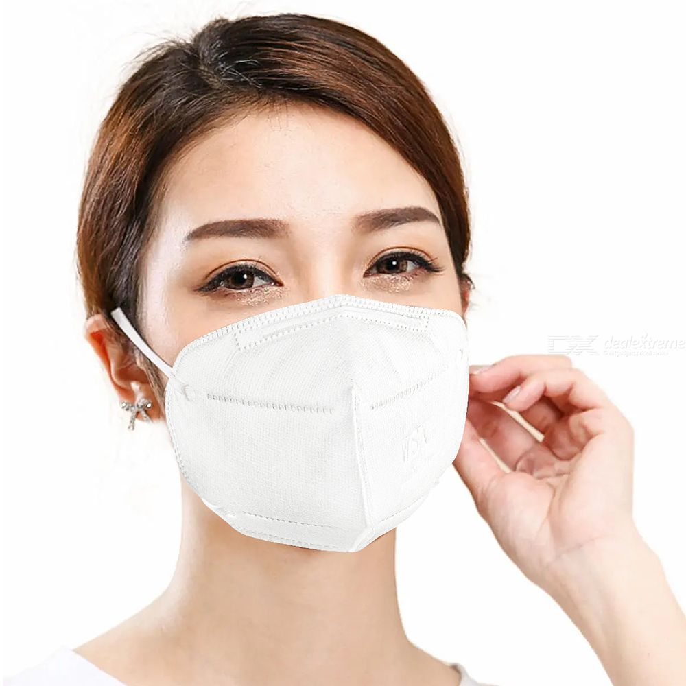 KN95 Face Mask Universal Anti-droplet Protective Respirator Mask Disposable Particulate Respirator