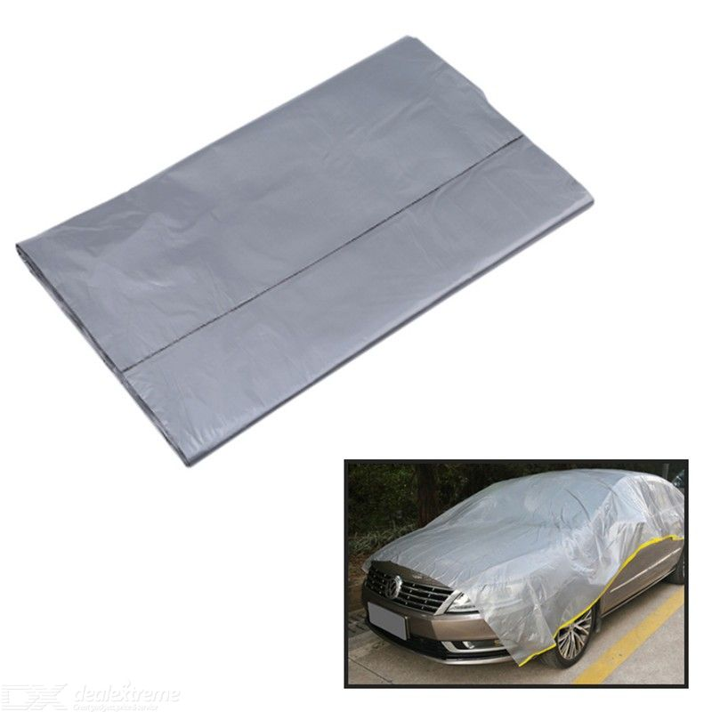 2.74x3.66m Disposable Waterproof Transparent Car Dust Cover Furniture Protector Cover