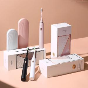 X3U Electric Toothbrush Powerful Ultra Sonic Whitening Tooth Brushes With 4 Optional Modes 3 Brush Heads