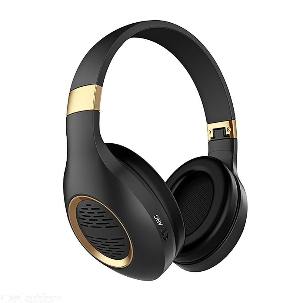 Noise-Cancelling Headset Bluetooth Wireless Over-Ear Headphones With ANC Noise Isolation Function