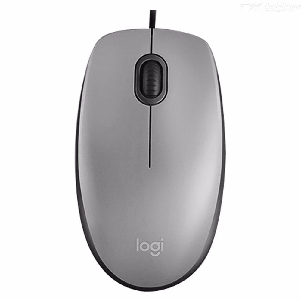 Logitech M111 Corded Mouse Noiseless Wired USB Mouse For Laptop Desktop Computer Right Or Left Hand Use Optical Mouse