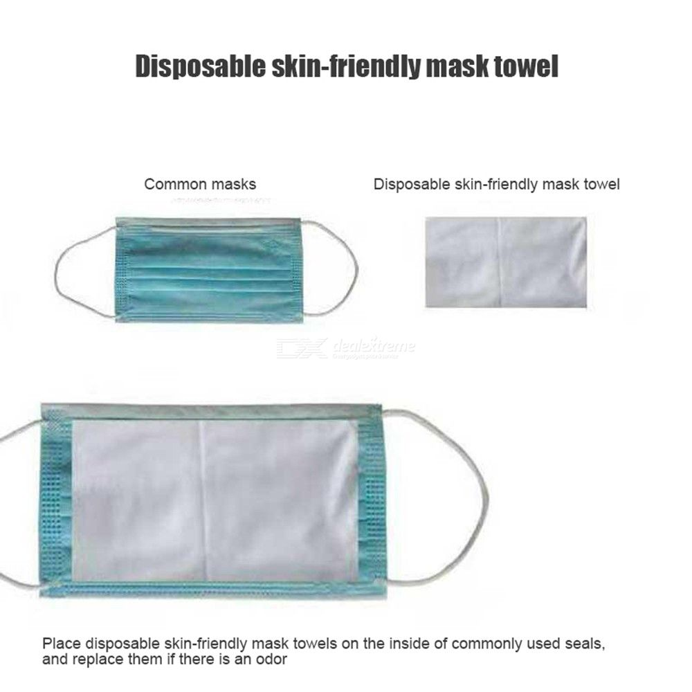 Disposable protective mask inner pad 100