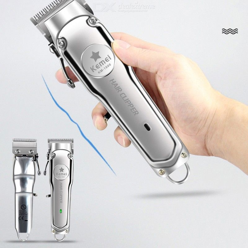 KM-1997 Professional Hair Clippers All-Metal Electric Hair Trimmer