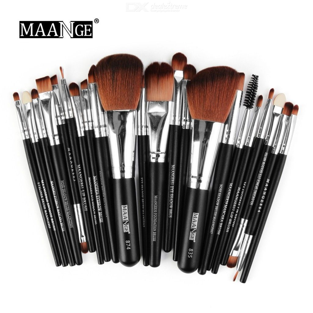 22PCS Makeup Brushes Set, Foundation Powder Eyeshadow Eyeliner Brush Cosmetics Tool Make-up Toiletry Kit