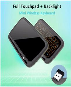 H18+ 2.4GHz Mini Wireless QWERTY Keyboard, Remote Control Full Touch Pad Touchpad Keyboard For Android TV Box PC Xbox3