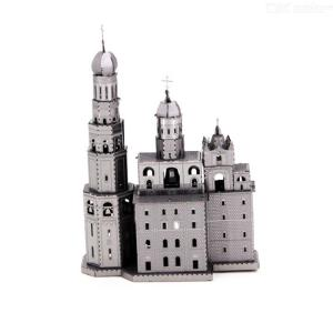 3D Metal Puzzle Assembled Building Blocks Educational Toy for Kids Adults