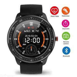 Smart Watch Waterproof Fitness Tracker Wristwatch With Heart Rate Sleep Monitor Message Reminder IPX67