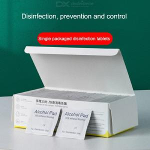 Baseus Alcohol Pre Pad 75 Isopropyl Alcohol Wipes For Novel Coronavirus Prevention - 120PCS/Box