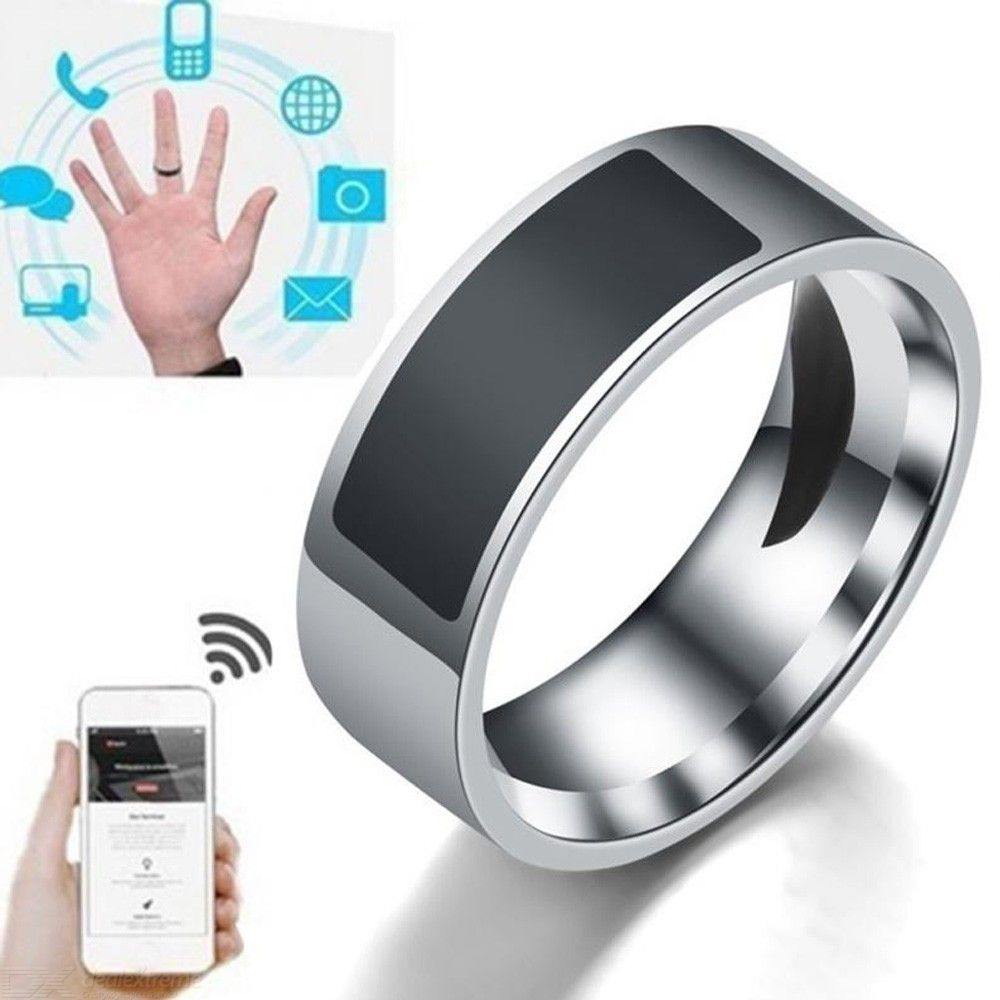 Stainless | Fashion | Jewelry | Smart | Phone | Steel | Label | 2019 | Ring | Men
