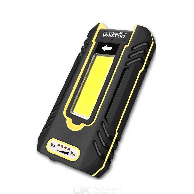 WARSUN Y36 Portable LED Rechargeable Work Light, Magnetic Compact Waterproof Repair LED Work Light