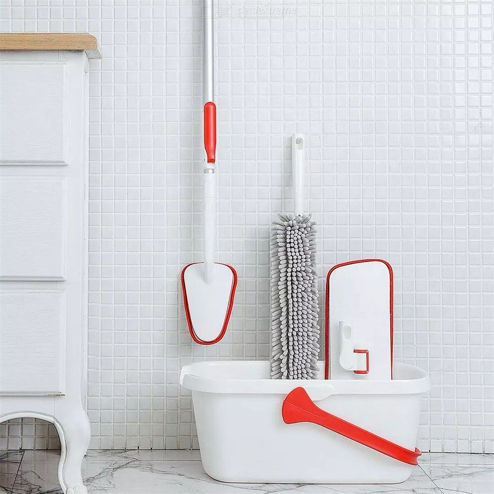 Xiaomi Youpin Tub Tile Scrubber Soft Microfiber Cleaning Brush For Bathroom