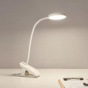 XIAOMI YOUPIN LED Desk Lamp Eye-Caring Clip-on Reading Light USB Rechargeable Portable Dimmable Office Lamp