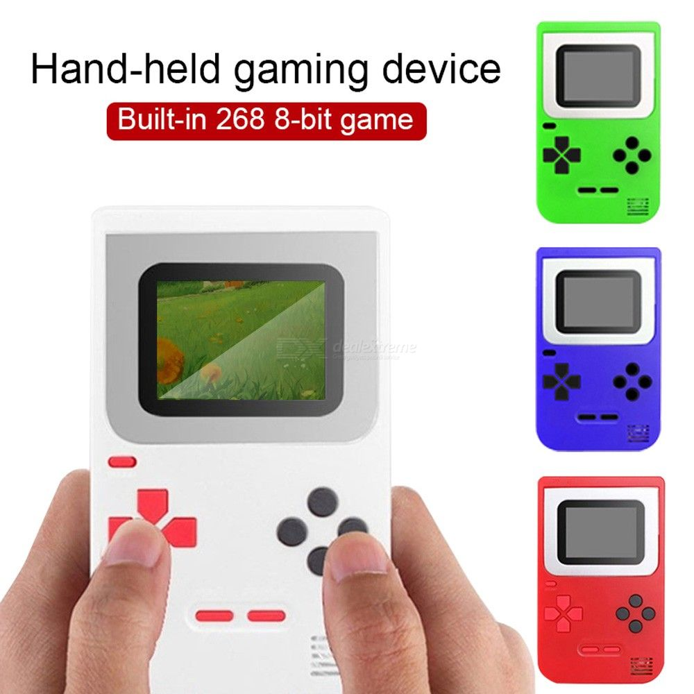 Mini Portable Video Game Console, 8 Bit Retro Game Player with Built-In 268 Classic Games