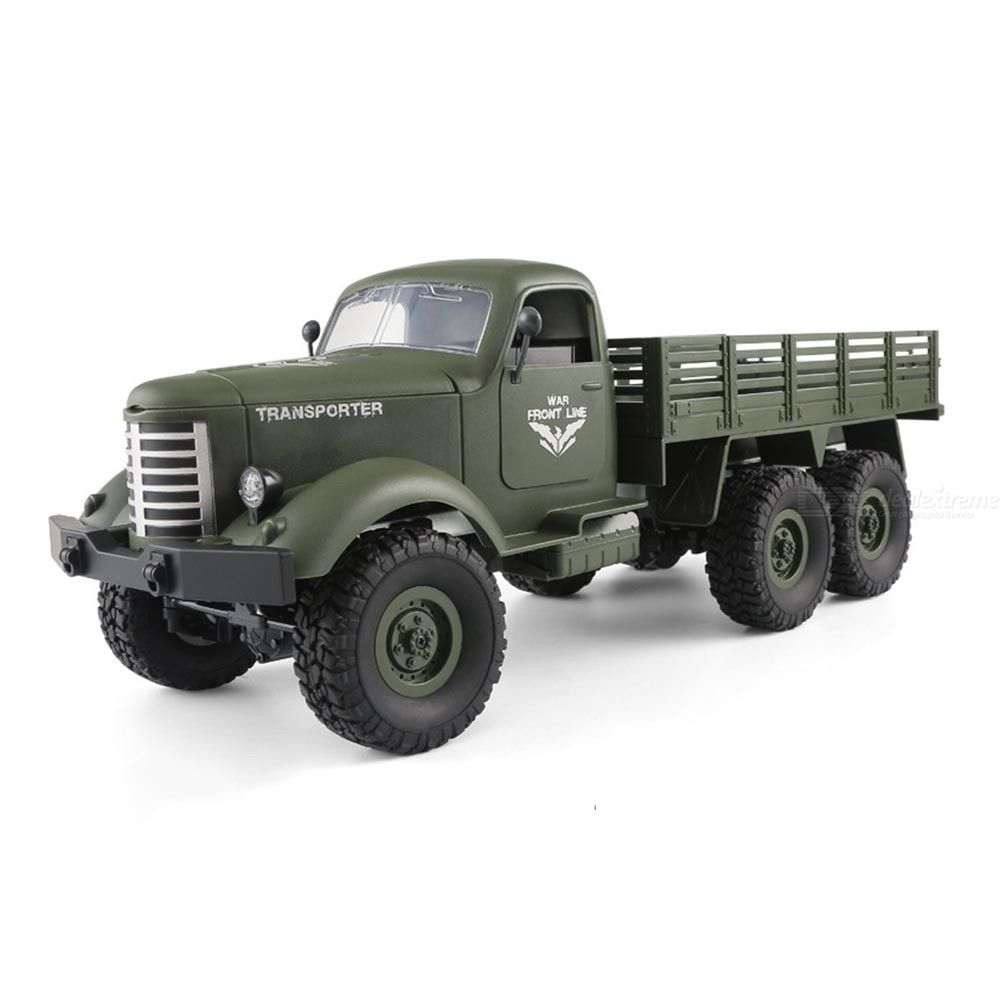 Q60 RC Military Truck Remote Control Army Offroad Car With Lights