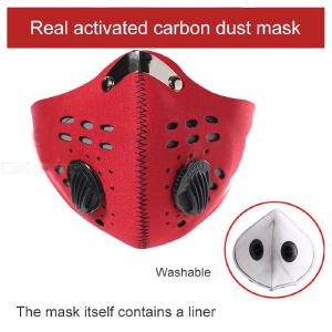 PM 2.5 Face Mask Anti-haze Mouse Mask With Breathing Valve For Pollution