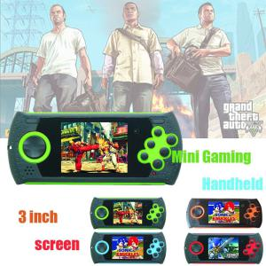 4489 MD16 FC Portable 2GB Sega Video Game Console, Mini 3 Inch Handheld Game Player