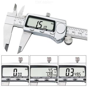 All Metal 0-150mm Stainless Steel Digital Display Vernier Caliper