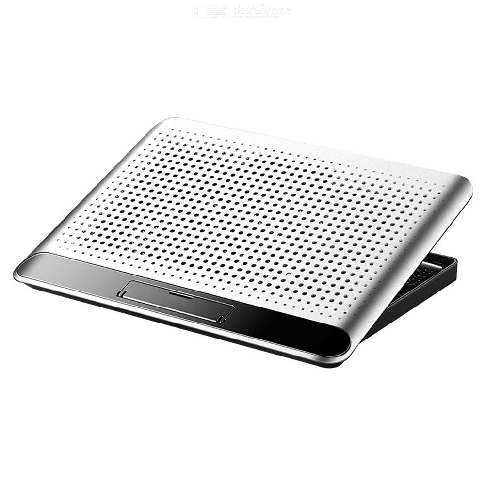 Laptop Cooling Pad Portable Personal Computer Stand With Powerful Fan And 6 Position