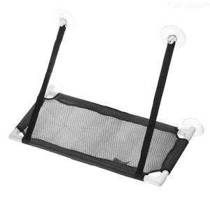 Cat Window Hammock Soft Pet Perch With Durable Suction Cups