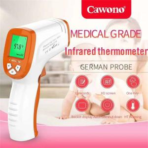 Human Body Thermometer Contactless Infrared Forehead Ear Thermometer Gun D380