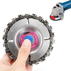 4 Inch Angle Grinder Chain Disk Wood Slotting Saw Blade