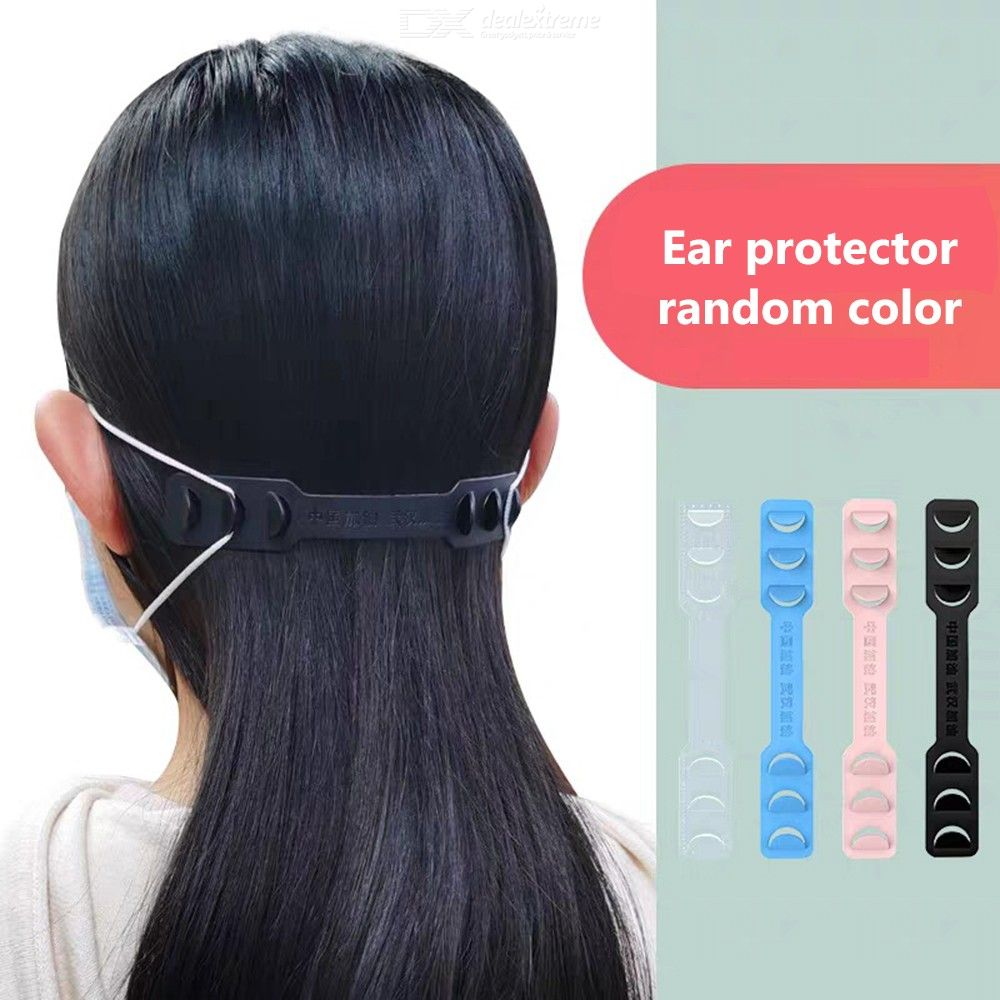 10Pcs Fastening Buckle Band For Mask String Loop Extender For Ear-pain-ease, Long Time Wearing