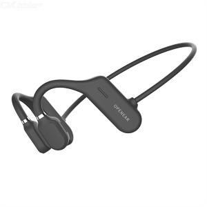 YOYAER Open Ear Wireless Bone Conduction Headphones Wateproof Running Workout Clip Bluetooth Headsets