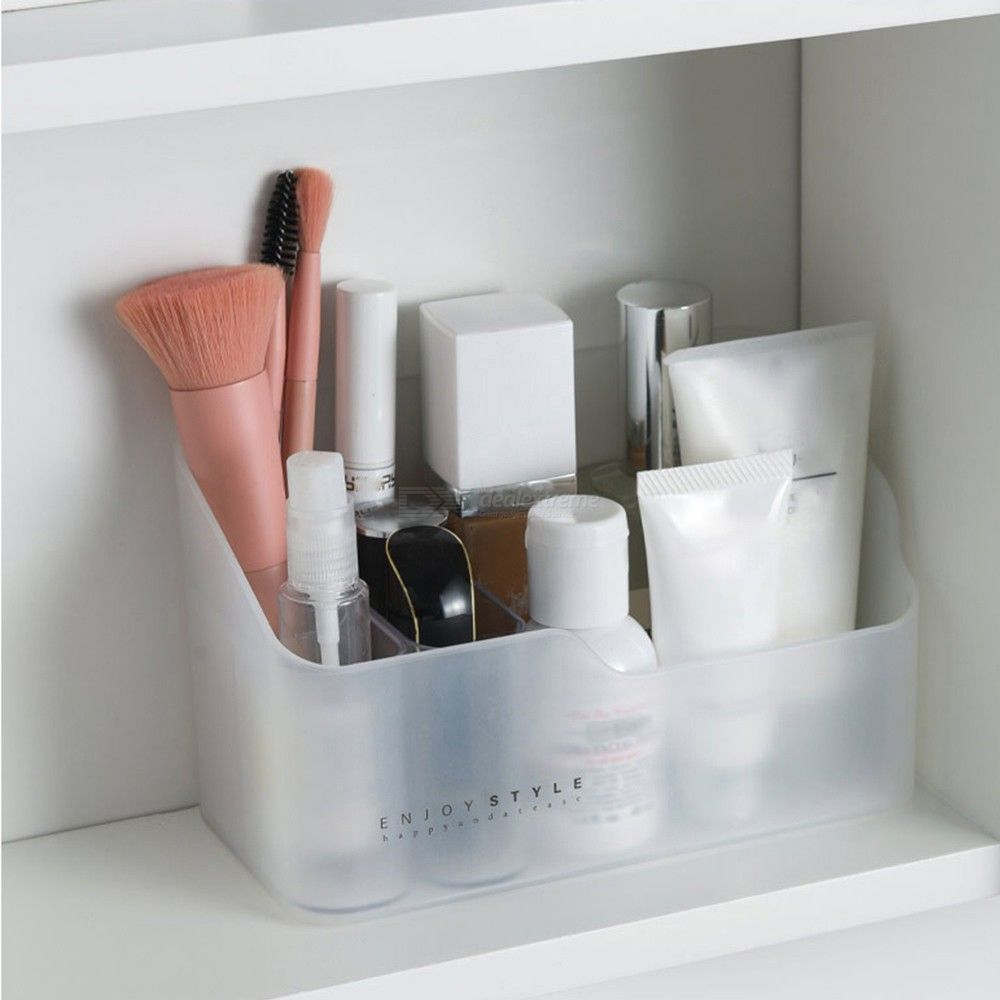 Multi-functional Skin Care Products Remote Control Cosmetics Jewelry Storage Box beauty case Bathroom Container Storage Box