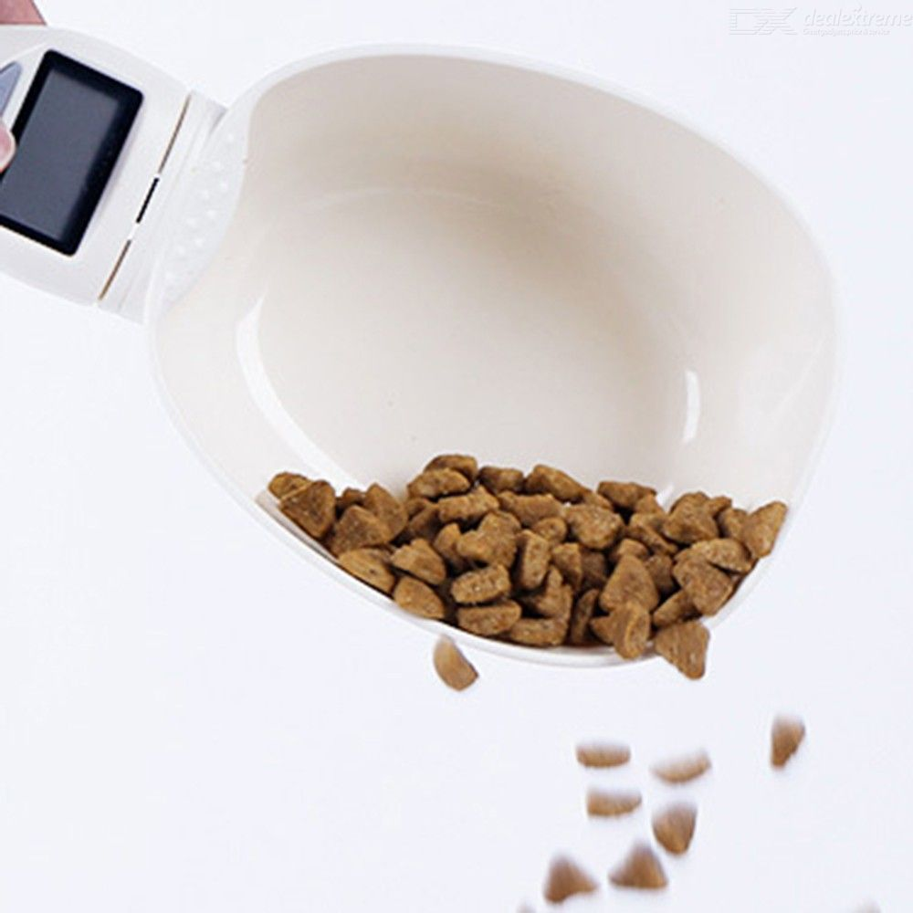 Pet Food Spoon Electric Precise Mesuring Cup Digital Scale Spoon With Display
