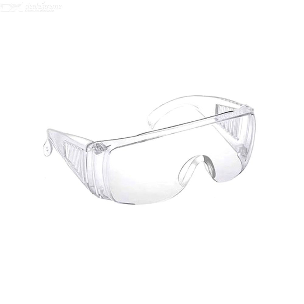 Safety Goggles Over-Glasses Goggles Clear Splash Resistant Anti-Fog Safety Glasses For Men, CE Listed