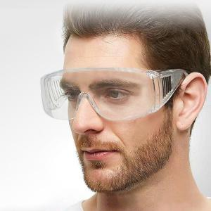 Anti-droplet Clear Protective Goggles Lightweight Transparent Anti-splash Anti-Fog Safety Glasses