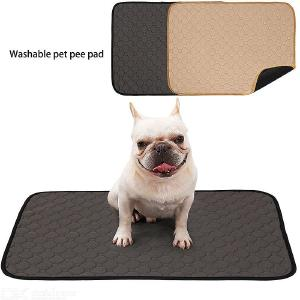 Washable Dog Pee Pads of Premium Pee Pads for Dogs, Waterproof Whelping Pads, Reusable Dog Training Pads