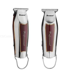 Professional Hair Clipper USB Rechargeable Hair Cutting Machine With 3 Limit Combs