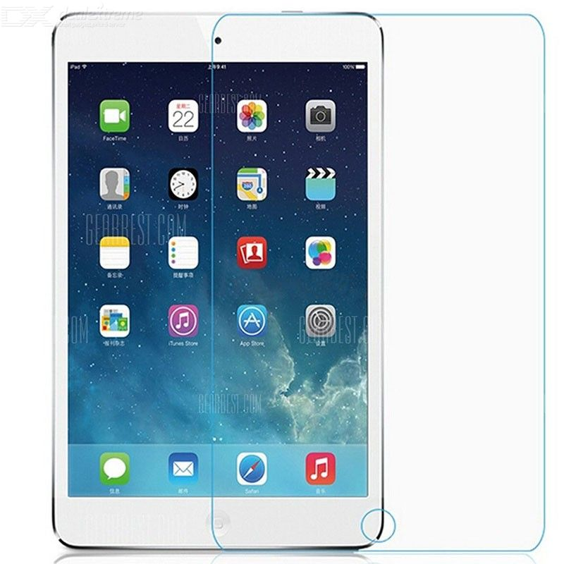 ASLING 0.3mm 9H Tablet Screen Protector Tempered Glass Film for iPad Mini 1-2-3