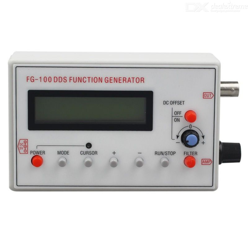 HZ-500 KHZ DDS Function Signal Generator with LCD Display
