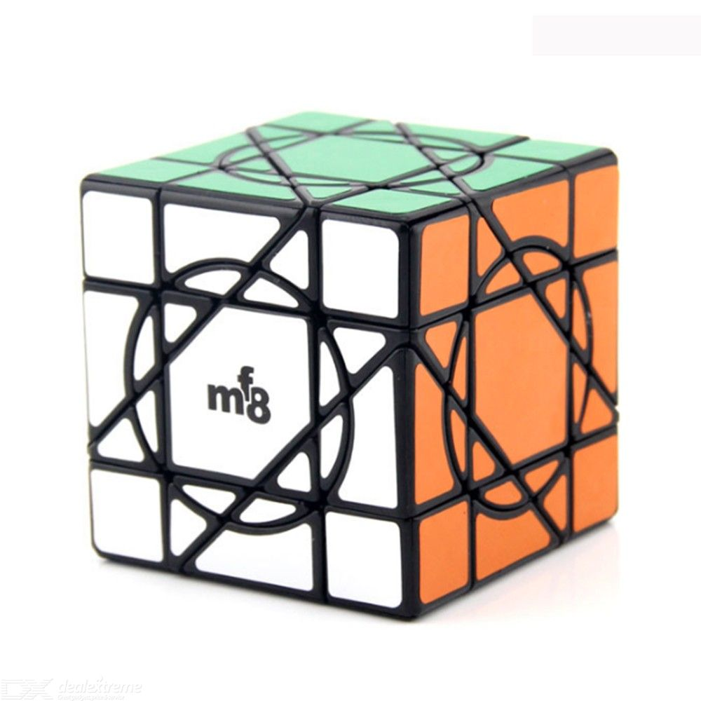 IQ-Cubes MF8 Crazy Unicorn Cube High Speed Cube Puzzle Magic Cube Puzzle Educational Toys for Kids Adults