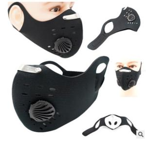Activated Charcoal Face Mask Reusable Anti-dust Anti-smog Cycling Mask