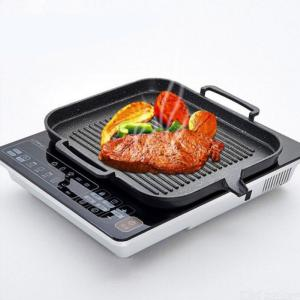 Frying Pan Induction Cooker Baking Tray Square Barbecue Tray Teppanyaki Smokeless Non-stick Barbecue Pot