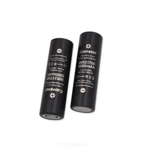 2 pcs Keeppower IMR 21700 5000mah Rechargeable Lithium Battery