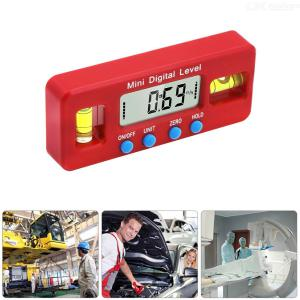 Mini Digital Level Magnetic Levelling Instrument with LCD Display for Automotive Industry