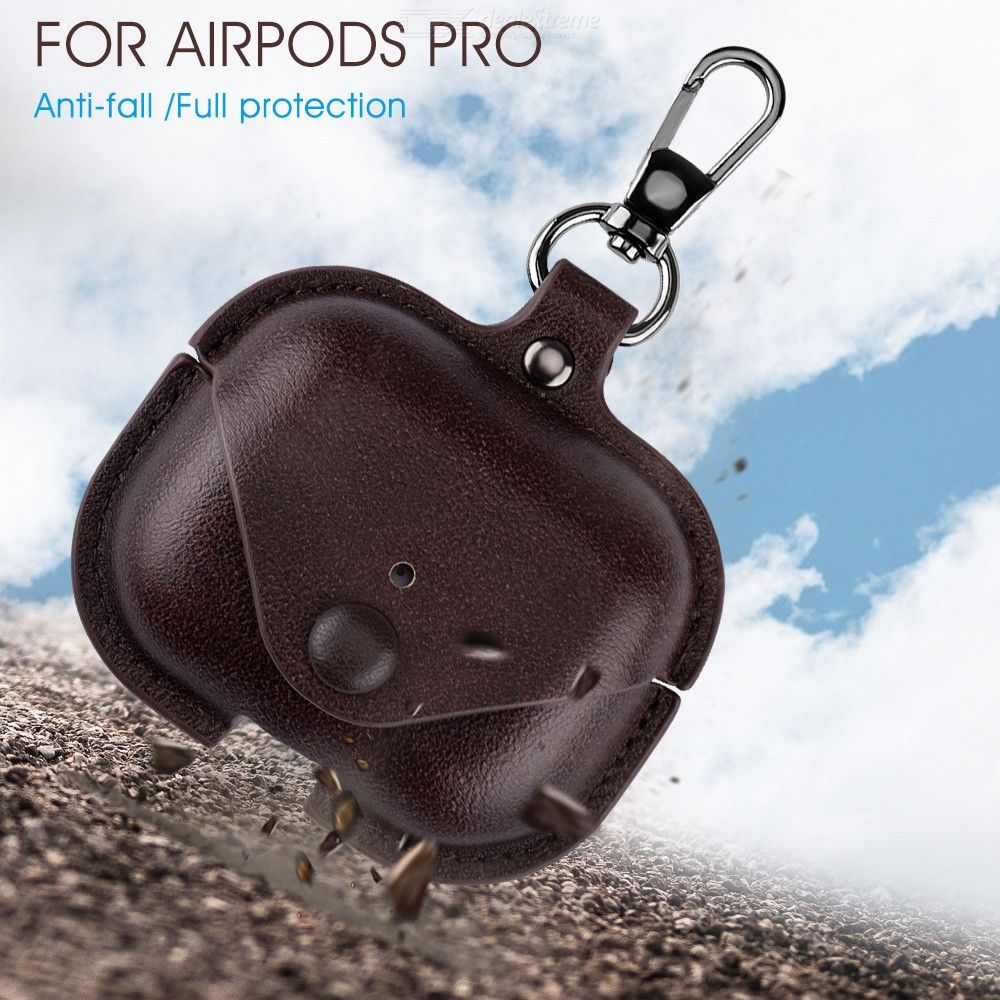 For Air pods Pro Airpods Pro Luxury Leather Case Earphone Charging Box Case For Airpods Air pods Pro TWS Bluetooth Earphone Case
