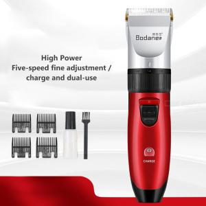 Professional Electric Hair Clipper USB Rechargeable Cordless Hair Trimmer With Adjustable Ceramic Blade For Men Kids Baby