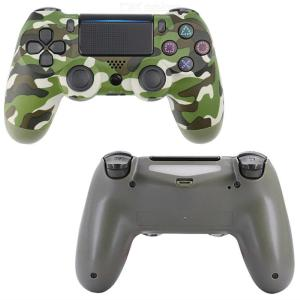 Wireless Game Controller Bluetooth Wireless Gamepad With LED Light Microphone Port For PS4