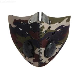 Activated Carbon Mask Dustproof Nose Mouth Protector For Outdoor Sports