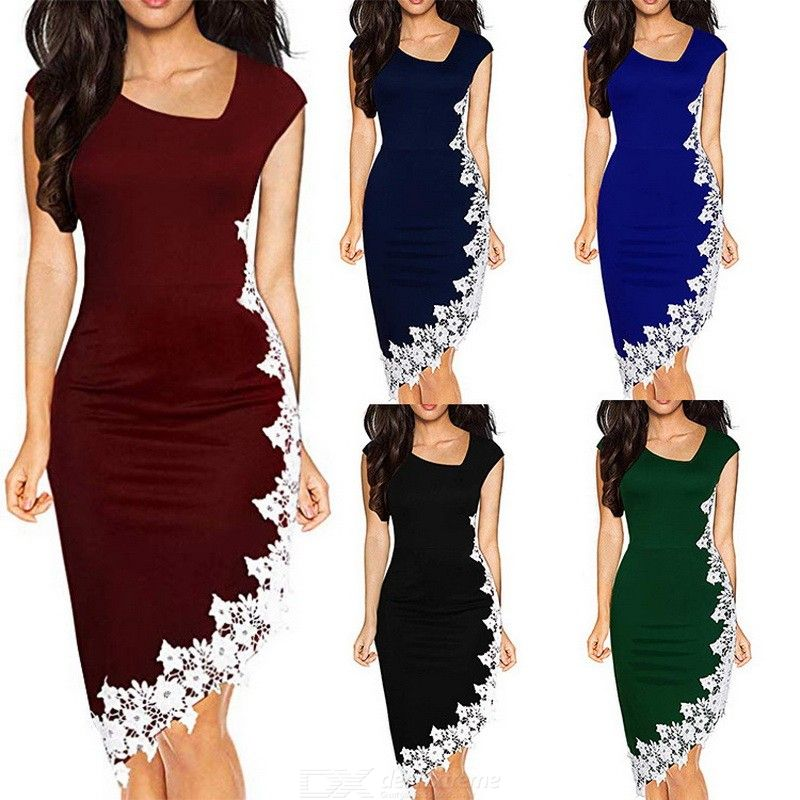 The midi dress midzone is far from a modest choice.